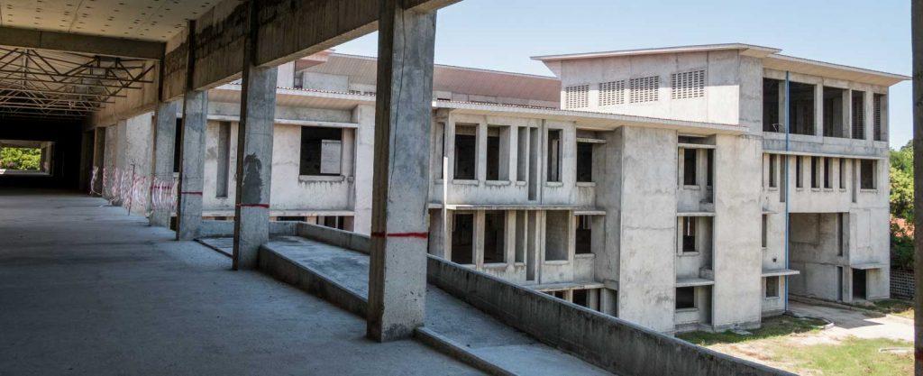 Private Hospital build in Tanzania