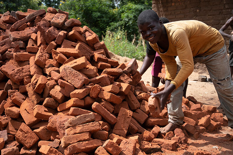 Bricks for building home